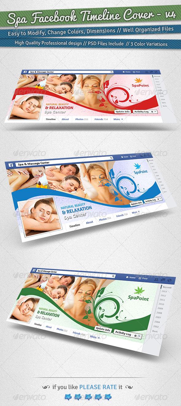 Spa Facebook Timeline Cover | Volume 4 - Facebook Timeline Covers Social Media