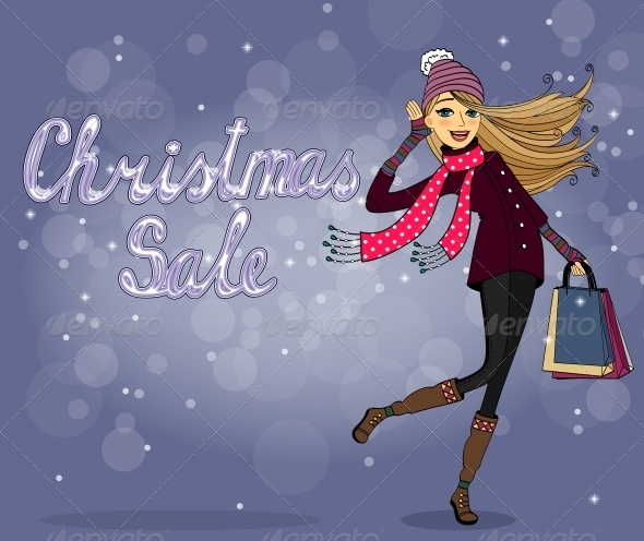 Christmas Sale - Retail Commercial / Shopping