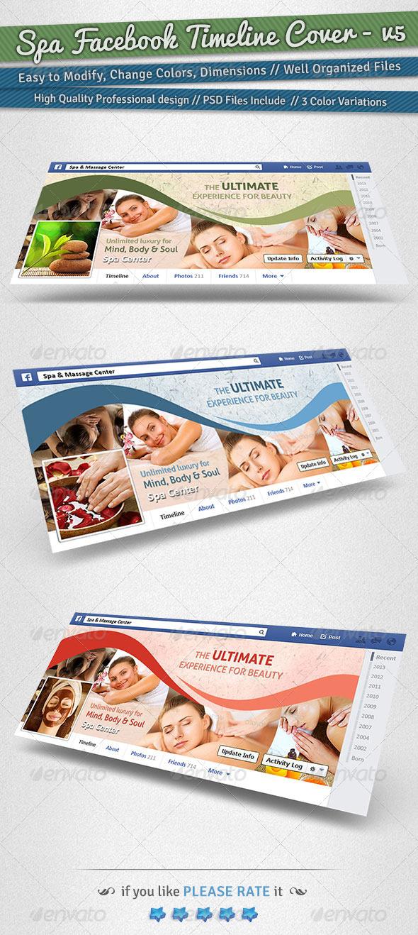 Spa Facebook Timeline Cover | Volume 5 - Facebook Timeline Covers Social Media