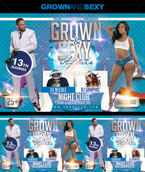 Grown and Sexy Affair - Clubs & Parties Events