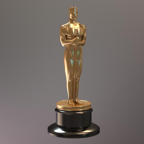 Oscar Award - 3DOcean Item for Sale