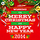 Christmas & New Year Poster Vol.1 - GraphicRiver Item for Sale