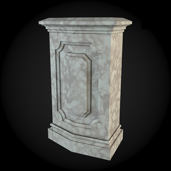 Pedestal 004 - 3DOcean Item for Sale