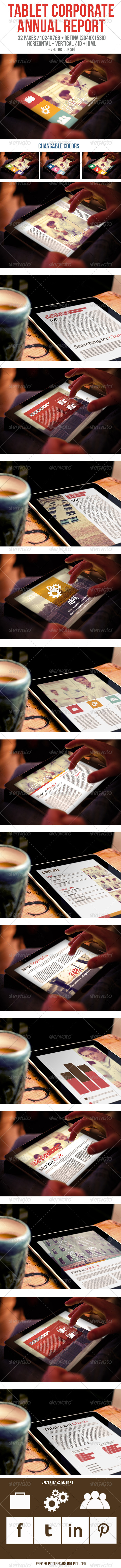 iPad & Tablet Corporate Annual Report - Digital Magazines ePublishing