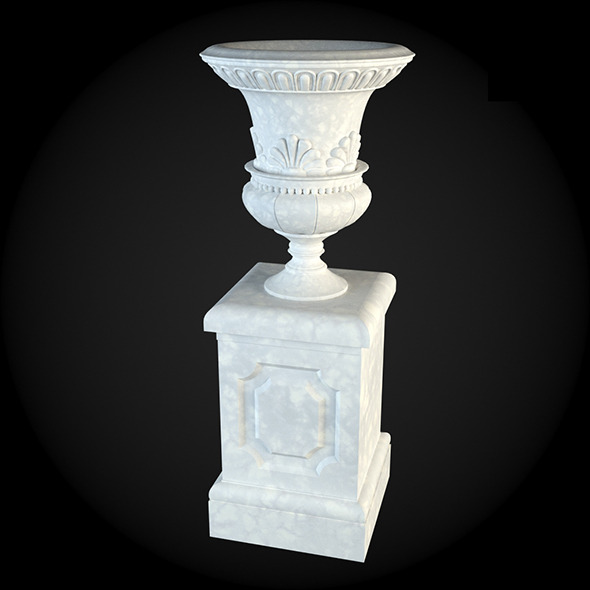 Pedestal 005 - 3DOcean Item for Sale