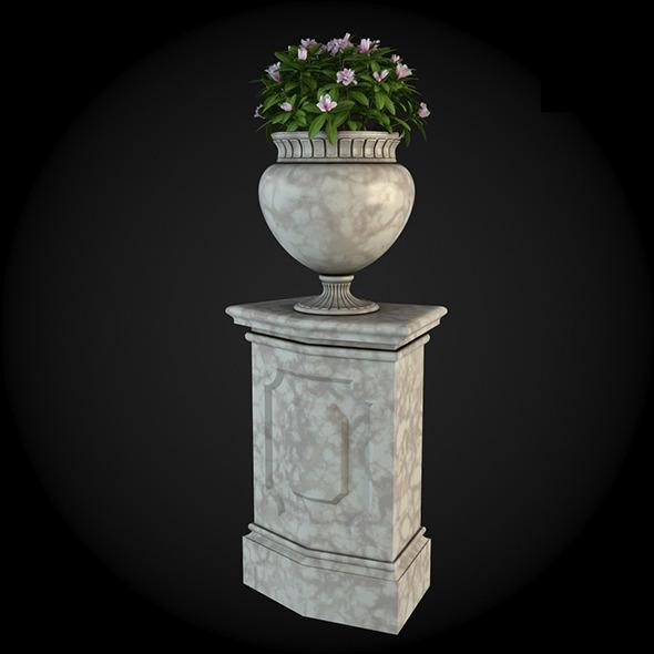 Pedestal 008 - 3DOcean Item for Sale