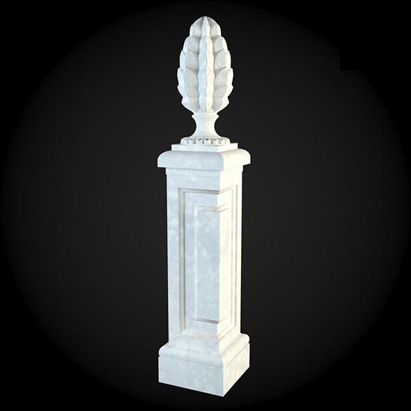 Pedestal 011 - 3DOcean Item for Sale