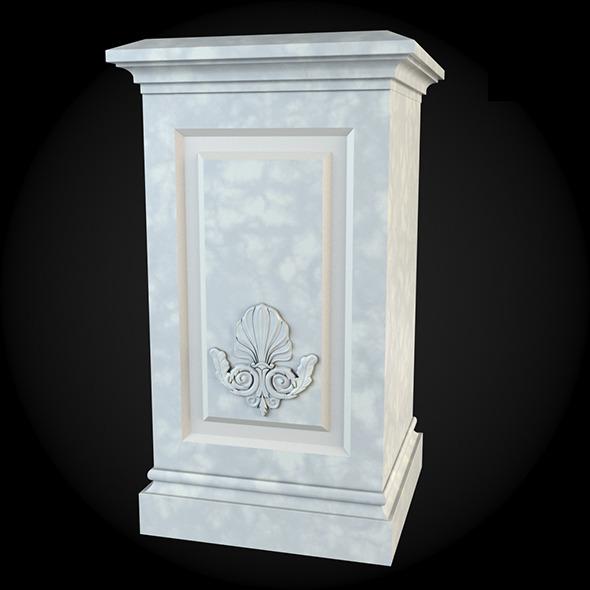 Pedestal 013 - 3DOcean Item for Sale