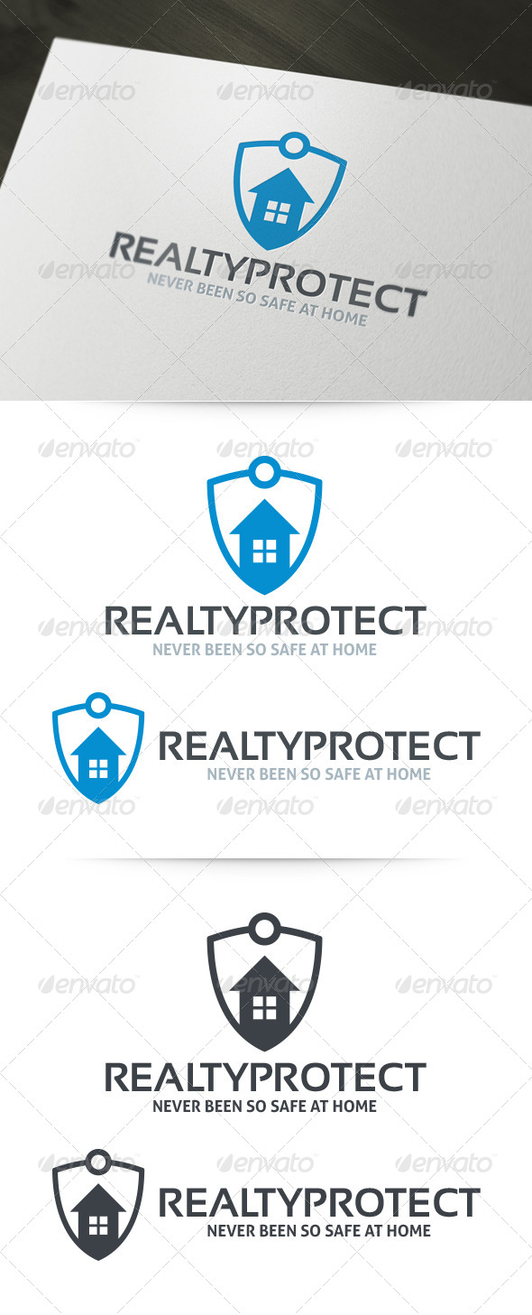 Realty Protect Logo Template - Crests Logo Templates