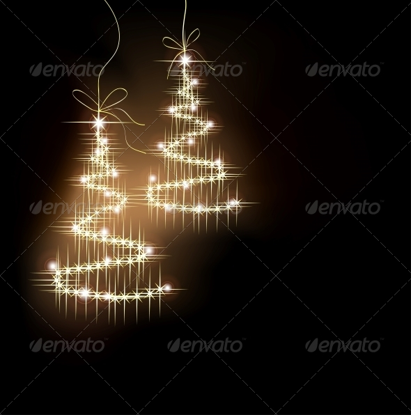 Sparkler Tree - Christmas Seasons/Holidays
