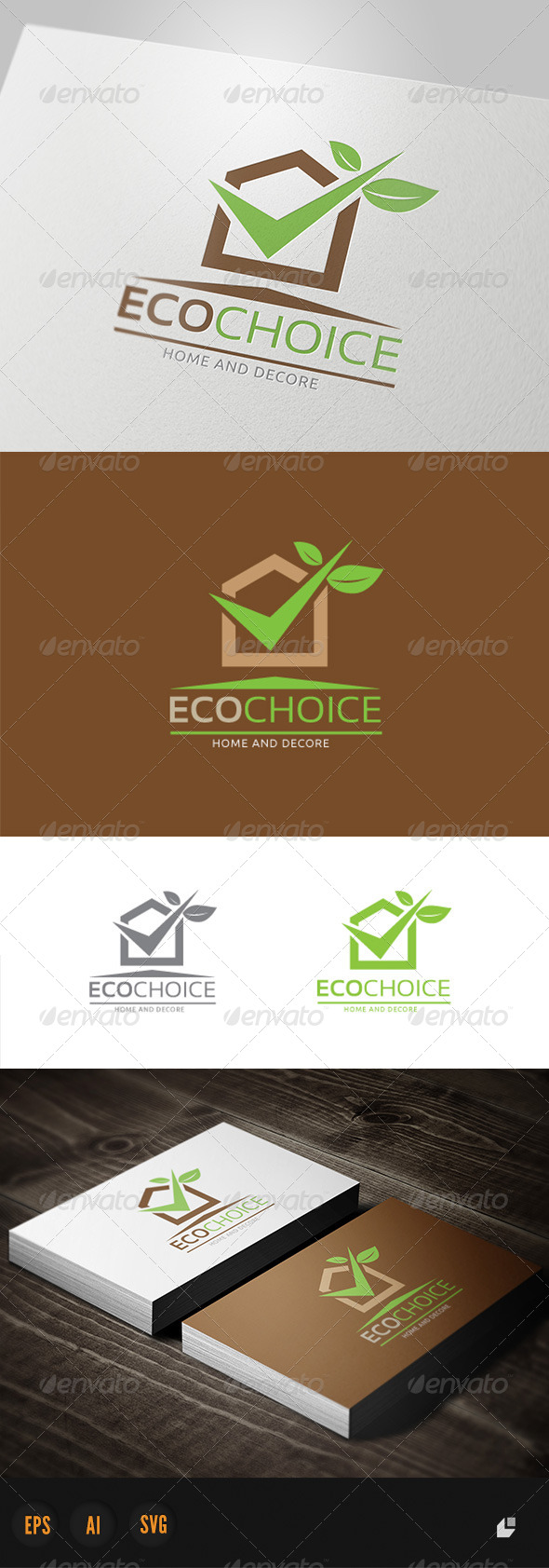 Eco Choice - Buildings Logo Templates