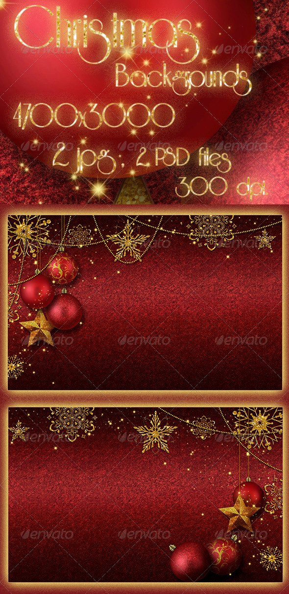 Christmas - Abstract Backgrounds