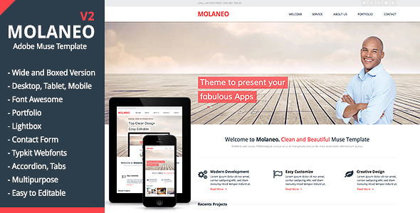 Molaneo – Multi-Purpose Muse Theme