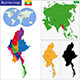 Burma Map - GraphicRiver Item for Sale