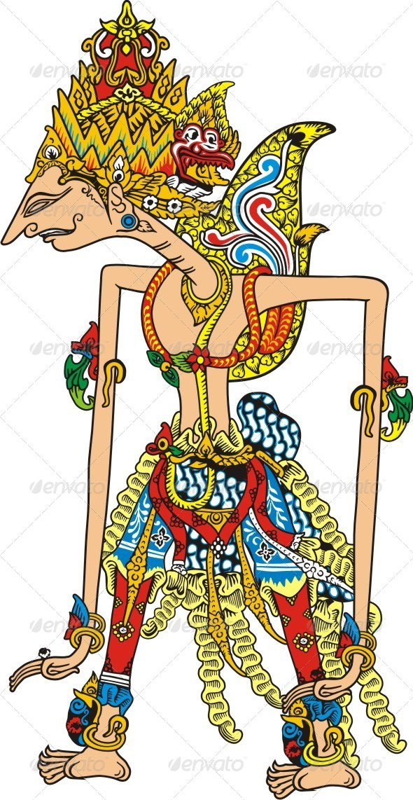 Javanese puppet by papaeiwi graphicriver javanese puppet miscellaneous characters pronofoot35fo Gallery