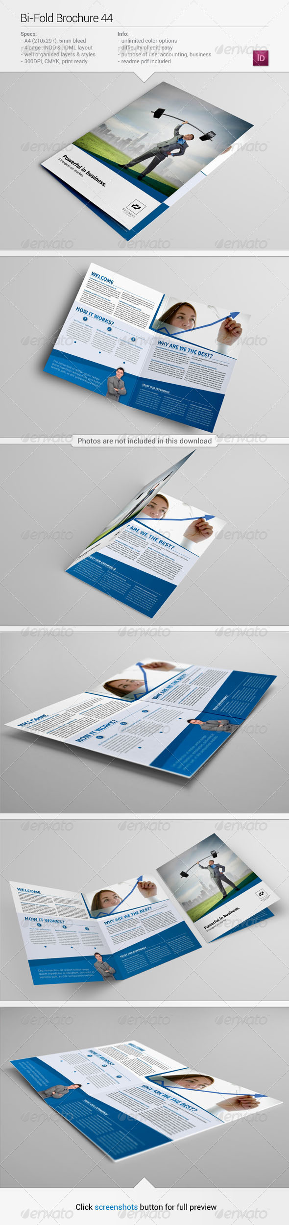 Bi-Fold Brochure 44 - Corporate Brochures
