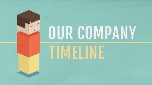 Our Company Timeline By Smudgethis VideoHive - After effects timeline template