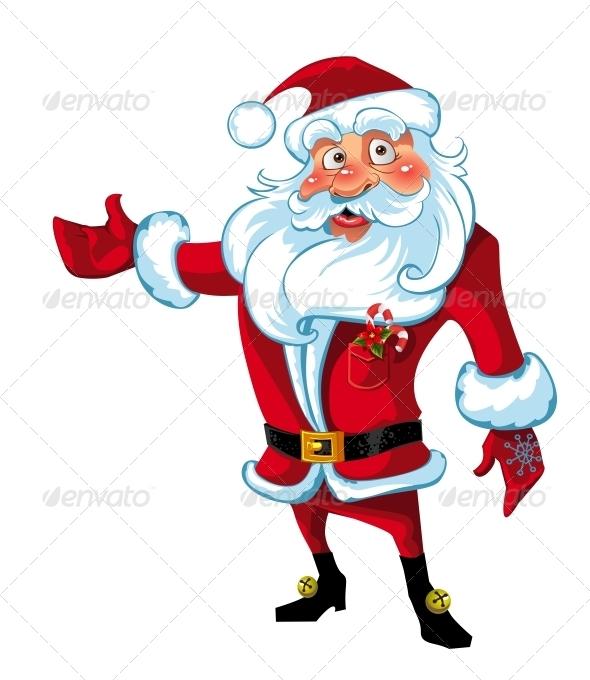 Santa Claus Presentation - New Year Seasons/Holidays