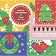 Flat Design Christmas Cards - GraphicRiver Item for Sale