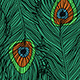 Peacock's Feathers Pattern - GraphicRiver Item for Sale