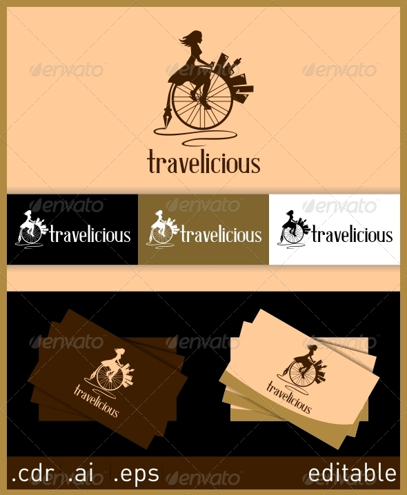 Travelicious Logo - Humans Logo Templates