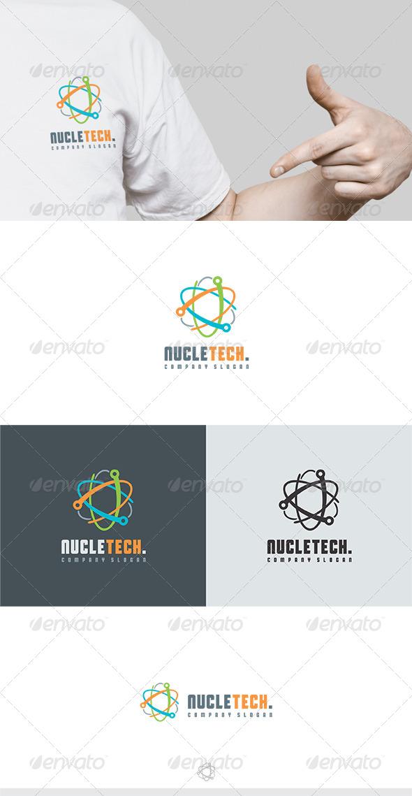 Nucletech Logo - Vector Abstract