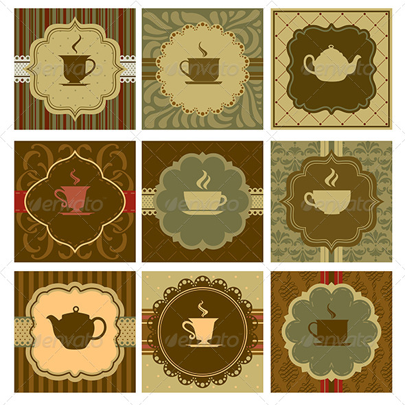 Coffee Design - Backgrounds Decorative