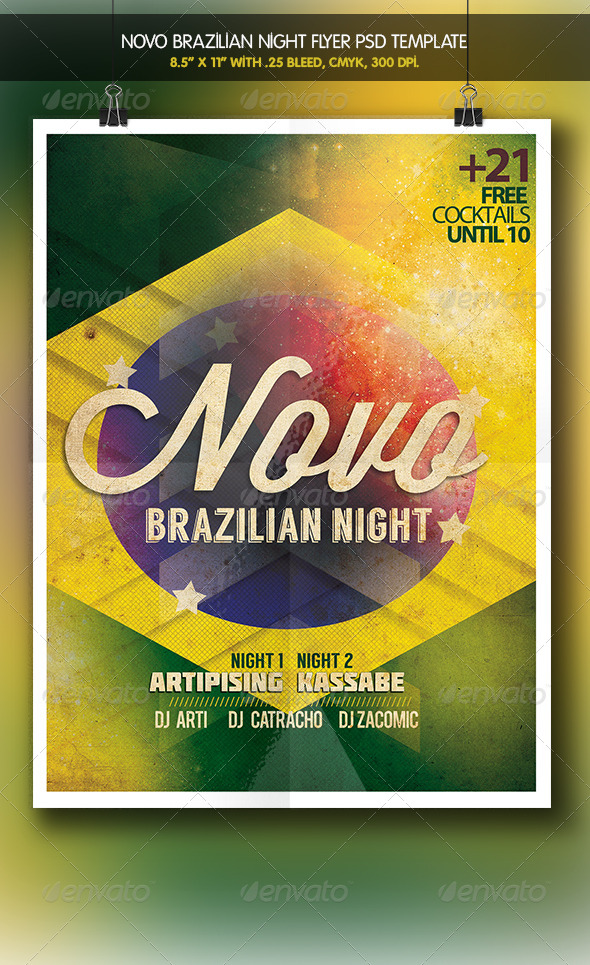 Novo Party | Brazilian Night - Clubs & Parties Events