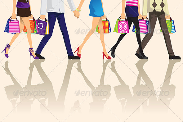 Shopping People - Commercial / Shopping Conceptual
