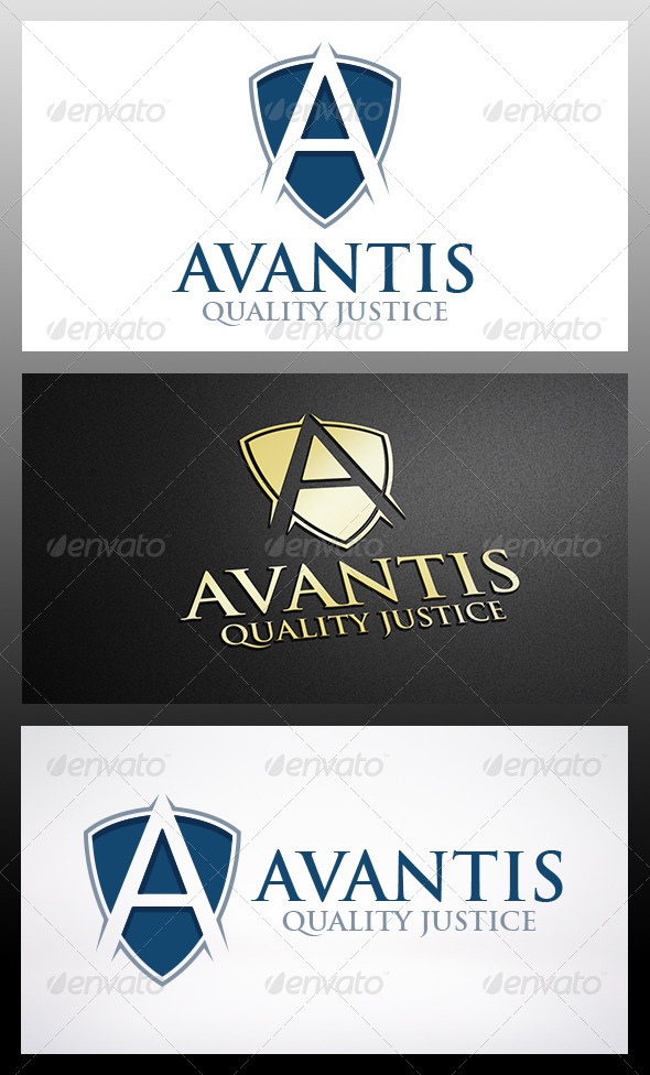 Shield A Logo - Letters Logo Templates