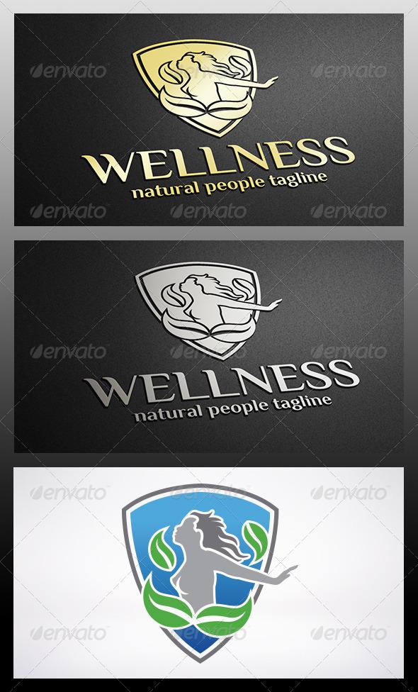 Shield Woman Logo - Humans Logo Templates