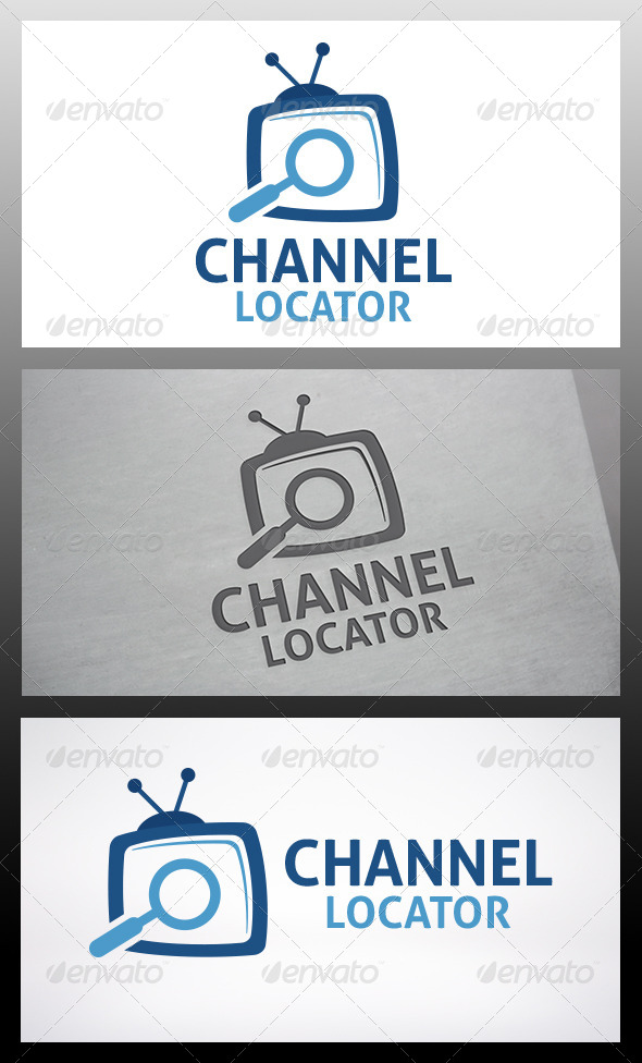 Tv Locator Logo - Objects Logo Templates