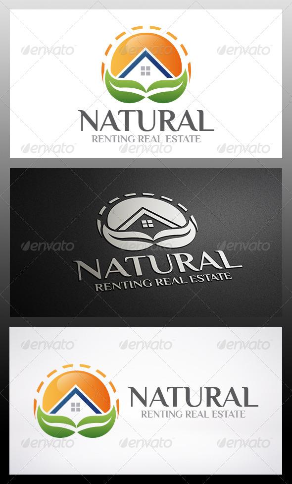 Eco House Logo - Buildings Logo Templates