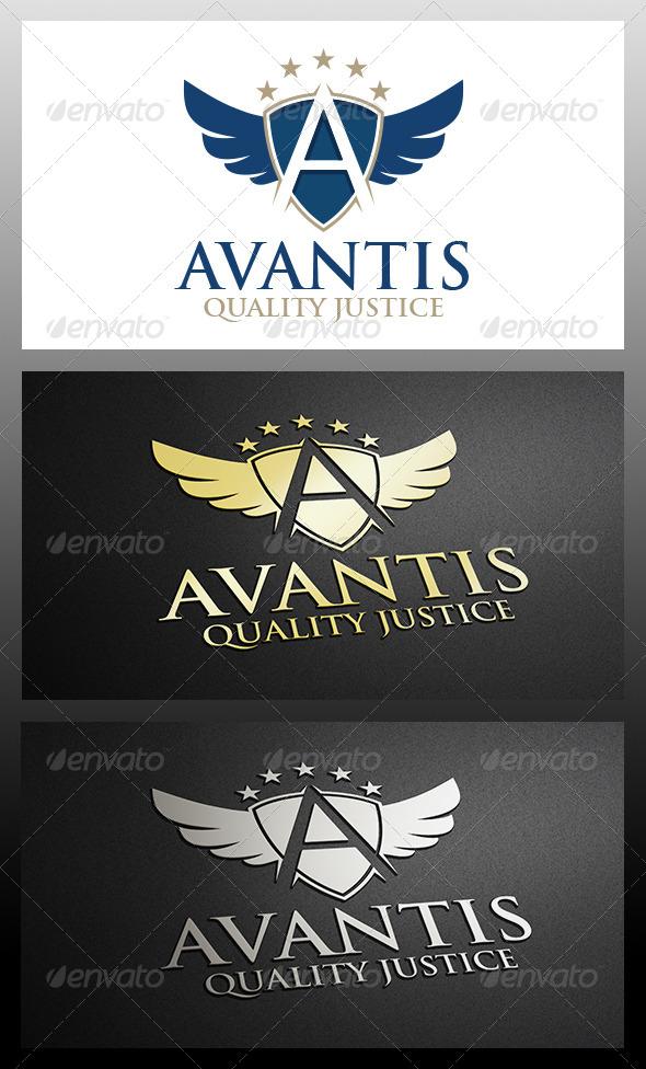 A Letter Crest - Crests Logo Templates