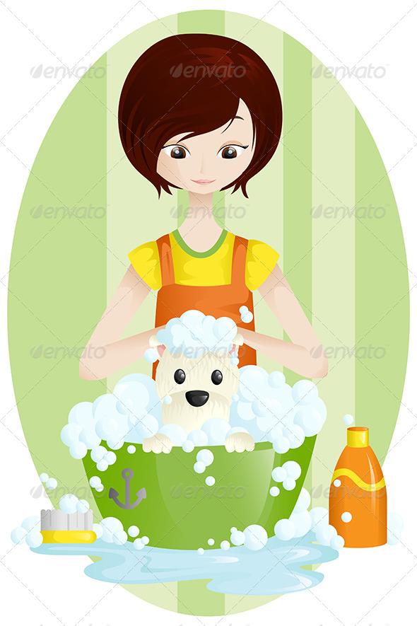 Pet Groomer - Animals Characters