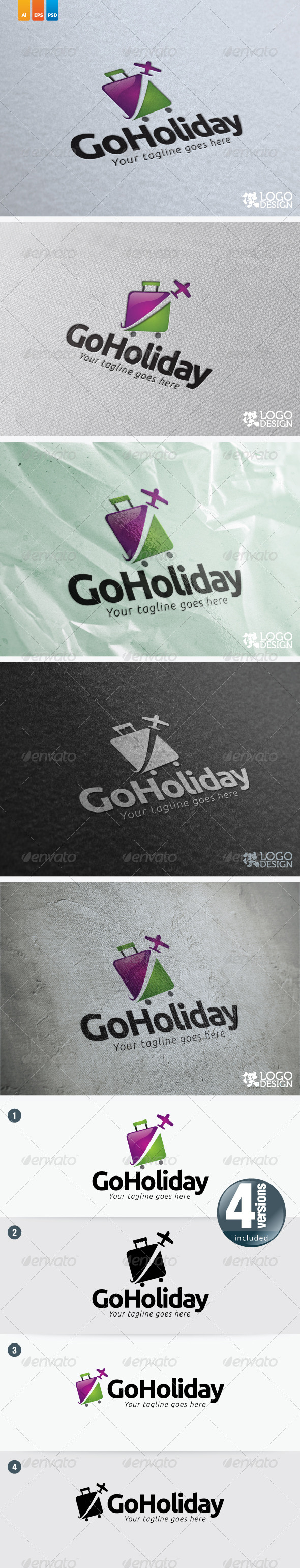 Go Holiday - Nature Logo Templates