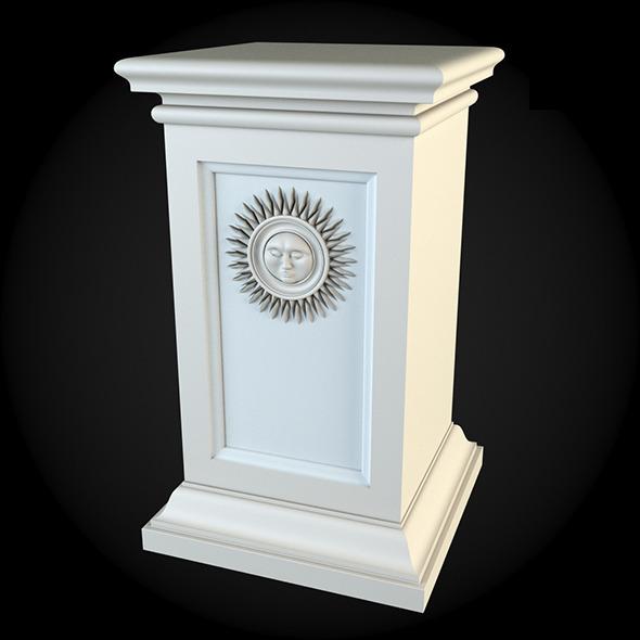Pedestal 025 - 3DOcean Item for Sale
