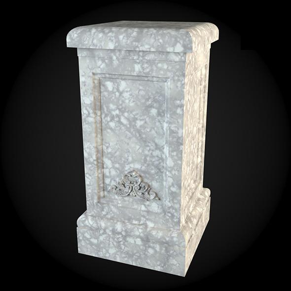 Pedestal 026 - 3DOcean Item for Sale
