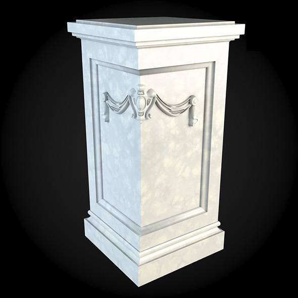 Pedestal 027 - 3DOcean Item for Sale