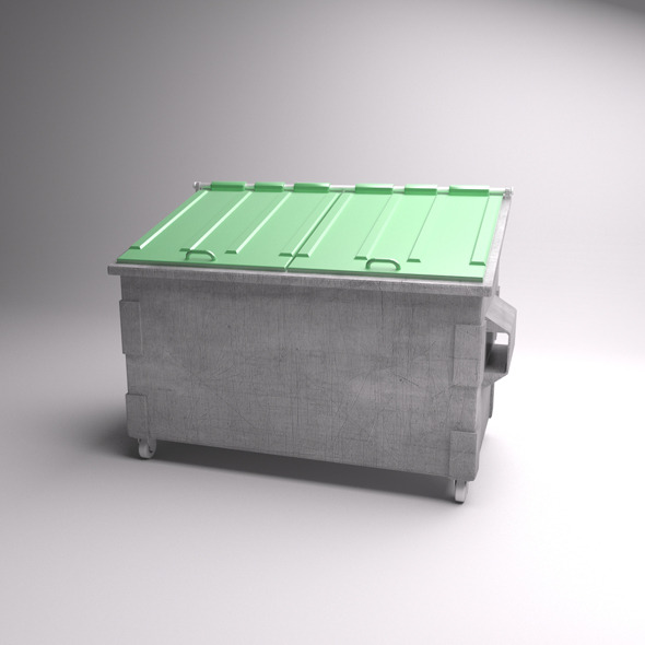 Dumpster - 3DOcean Item for Sale