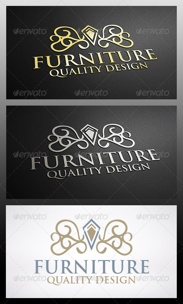 Furniture Logo - Crests Logo Templates