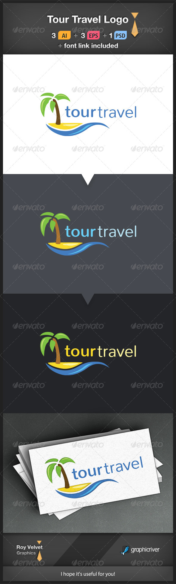 Tour Travel Logo - Symbols Logo Templates