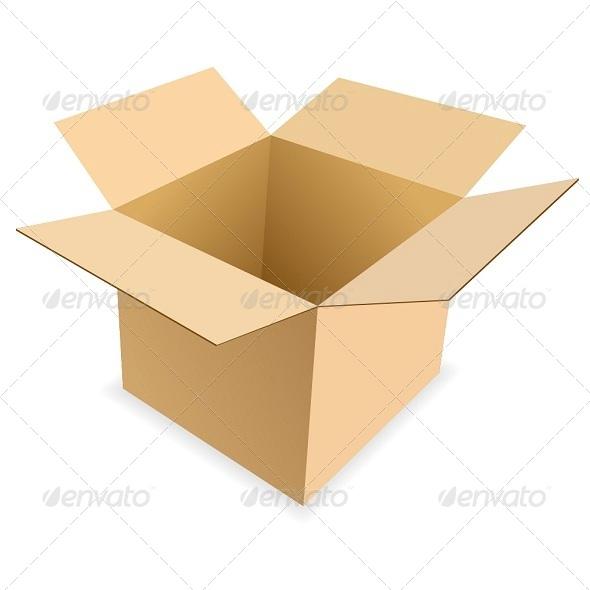 Carton Box - Man-made Objects Objects