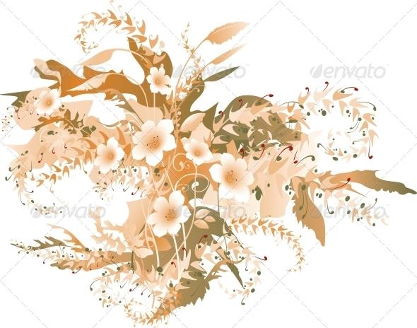 Delicate Floral - Flowers & Plants Nature