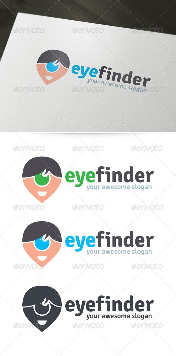 Eye Finder Logo - Humans Logo Templates