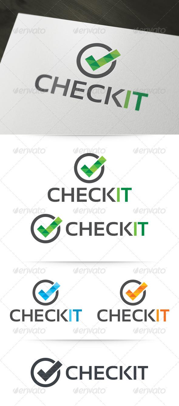 Check It Logo Template - Symbols Logo Templates