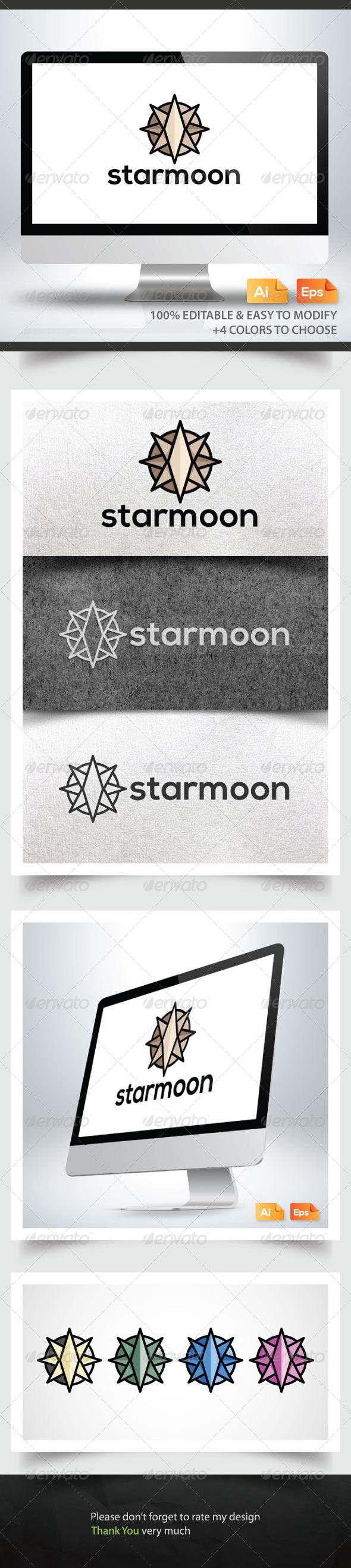 Starmoon - Symbols Logo Templates