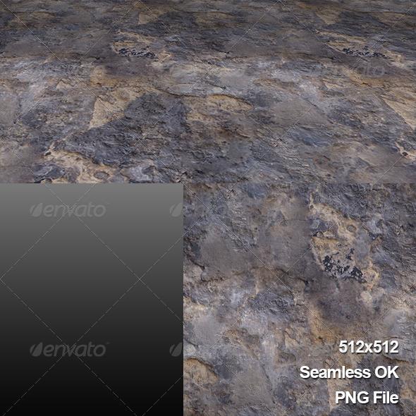 Ground_Rock_Texture_Tile001 - 3DOcean Item for Sale