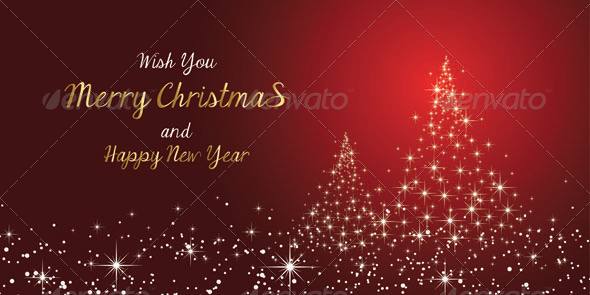 Merry Christmas and New Year's Card - Christmas Seasons/Holidays
