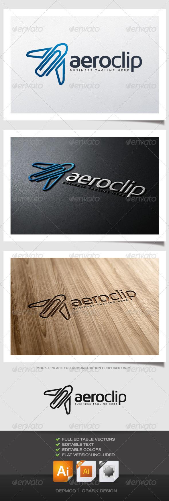 Aero Clip Logo - Symbols Logo Templates